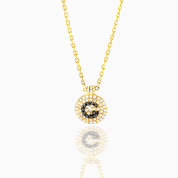 Diamond G Necklace