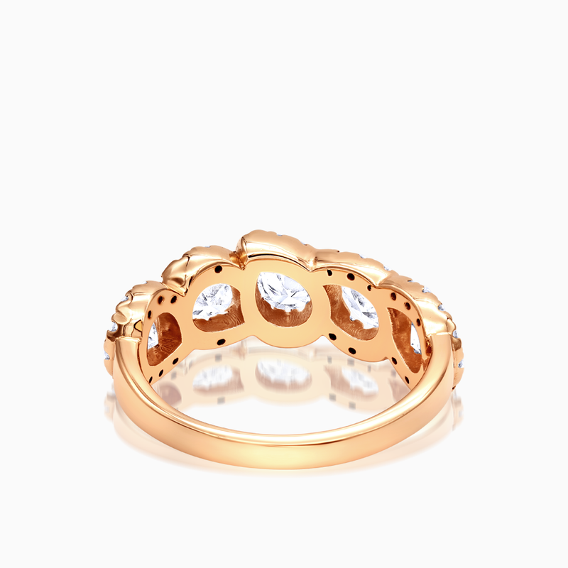 Fancy Pear Shape Eternity Band