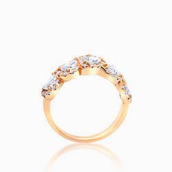 Pear Shaped Eternity Band