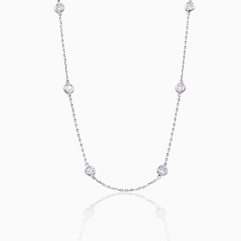 Diamond Yard Necklace