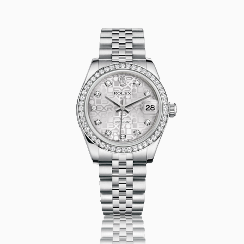 Ladies Rolex Silverplate