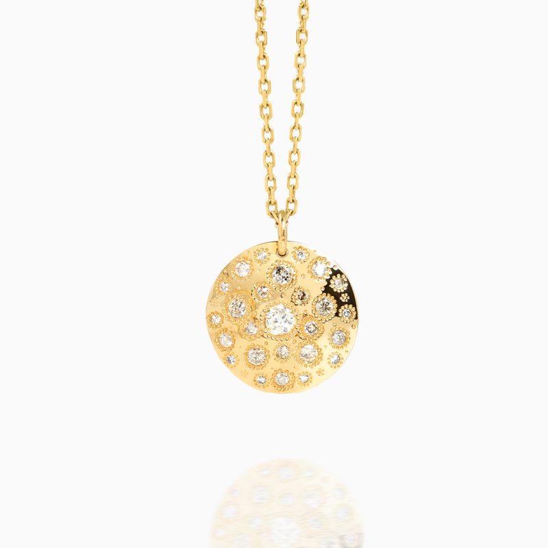 Round Pendent Necklace