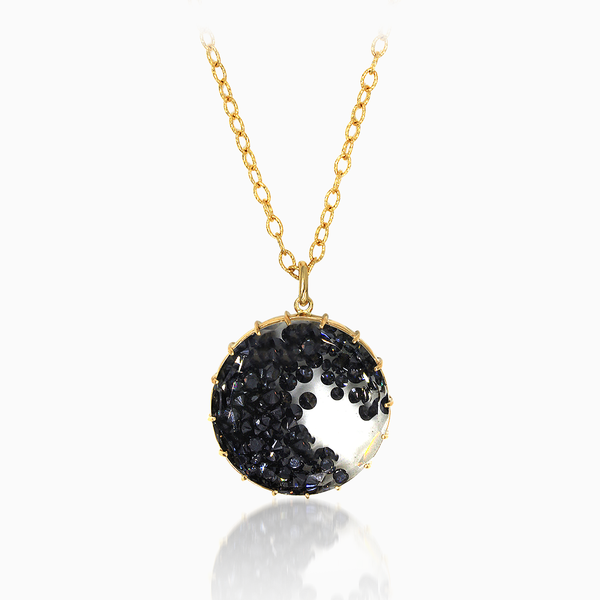 Necklace with Black Diamond