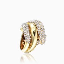 Beautiful Gold Knot Ring