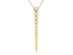 Diamond Line Pendant
