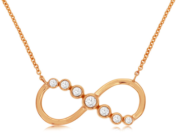 Diamond Infinity ∞ Necklace