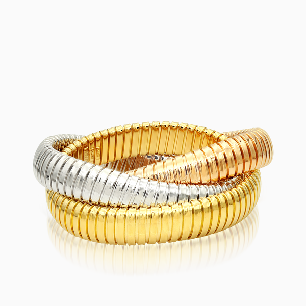 Tricolor Soft Bangle