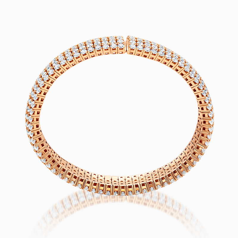 Rose Gold Flexible Bracelet