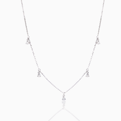 Shiny Diamond Necklace