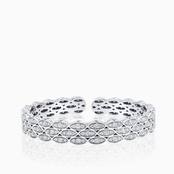 Gorgeous 18K White Gold Bracelet