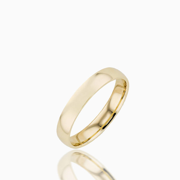 Mens Gold Band