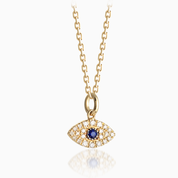 Evil Eye Diamond Pendant