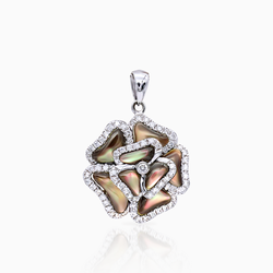 Mother of Rose Pendant