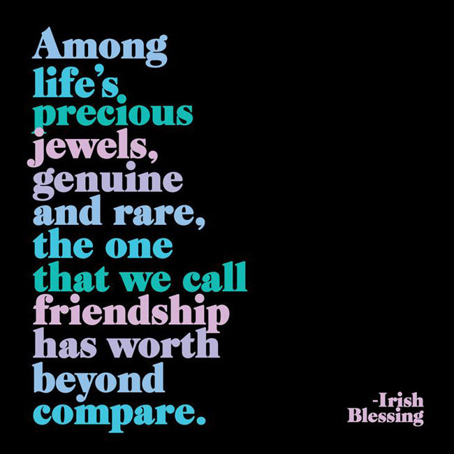 Among Life's Precious Jewels Quotable Card or Magnet