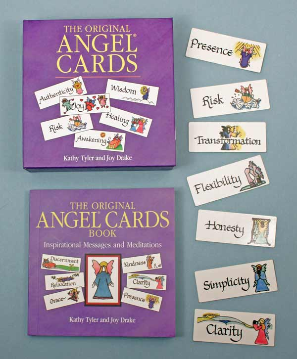 Angel Cards with Book - New - 25th Anniversary Edition
