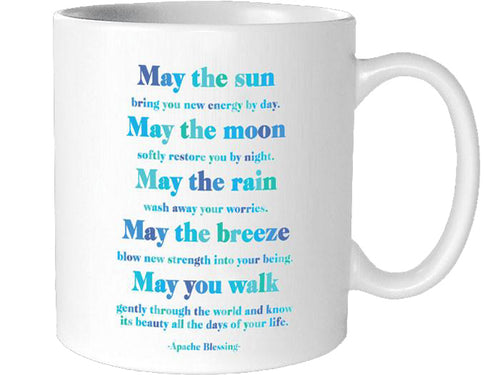 Quotable Apache Blessing Mug