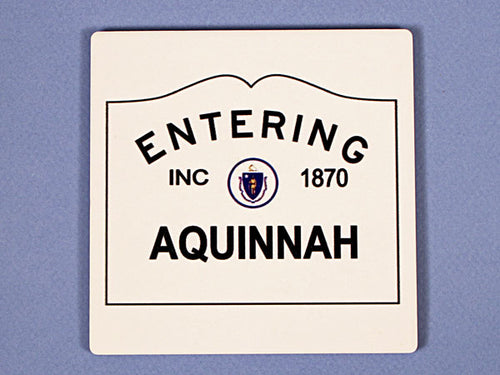Entering Aquinnah Coaster