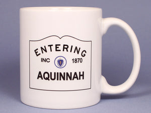 Entering Aquinnah Ceramic Mug