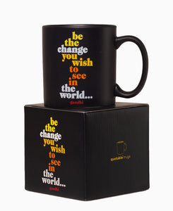 Quotable Be the Change Mug