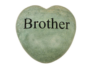 Brother Large Engraved Heart
