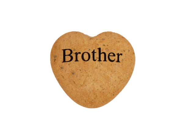 Brother Small Engraved Heart
