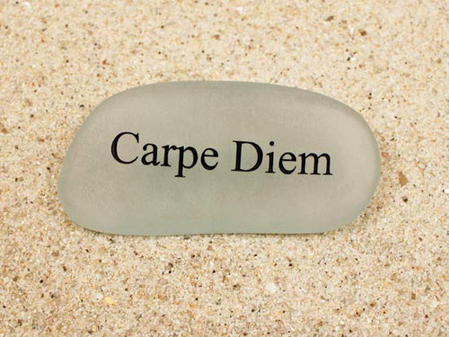 Carpe Diem Sea Glass