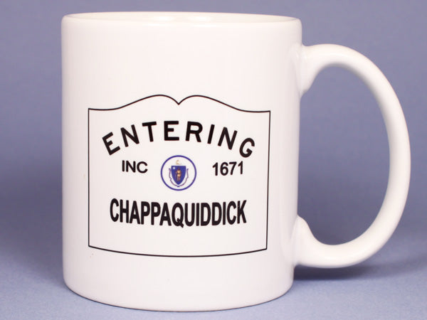 Entering Chappaquiddick Ceramic Mug
