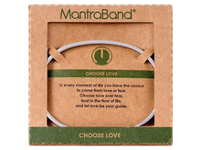 Load image into Gallery viewer, Choose Love Mantraband Cuff Bracelet