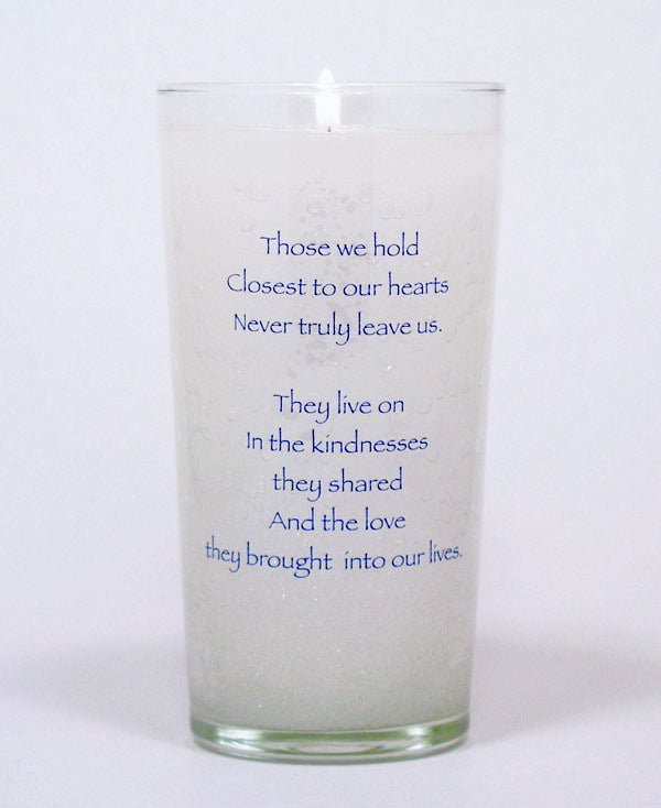 Closest to our Hearts Memorial Candle