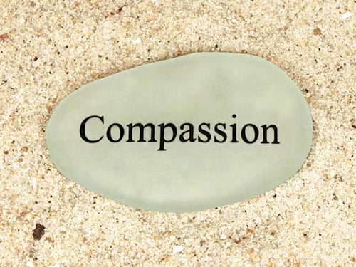 Compassion Sea Glass