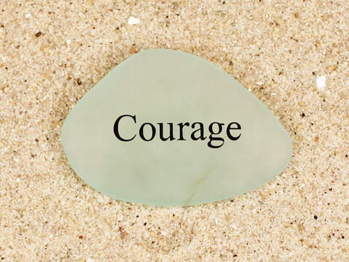 Courage Sea Glass