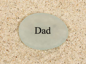 Dad Sea Glass