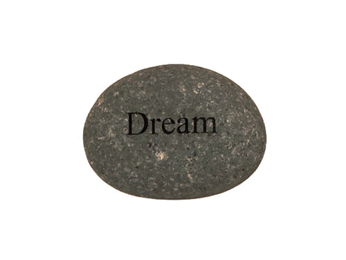 Dream Small Carved Beach Stone