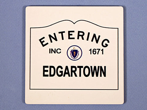 Entering Edgartown Coaster