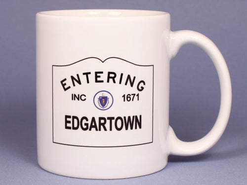 Entering Edgartown Ceramic Mug
