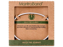Load image into Gallery viewer, Enjoy The Journey Mantraband Cuff Bracelet