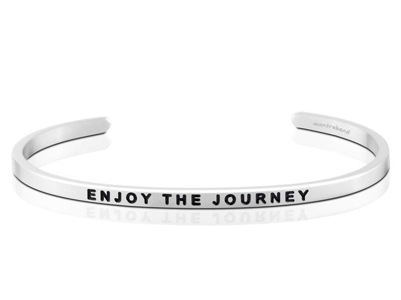 Enjoy The Journey Mantraband Cuff Bracelet