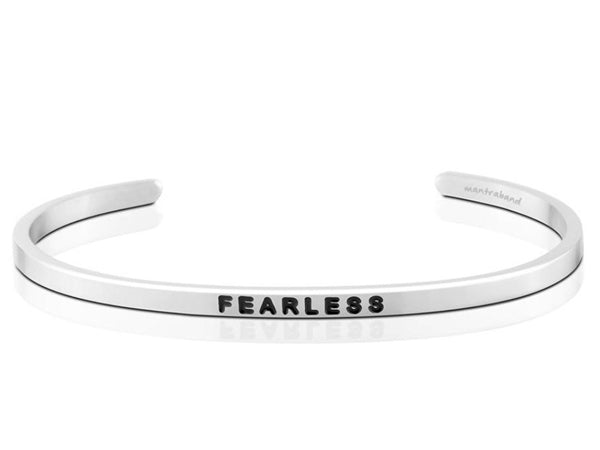 Fearless Mantraband Cuff Bracelet