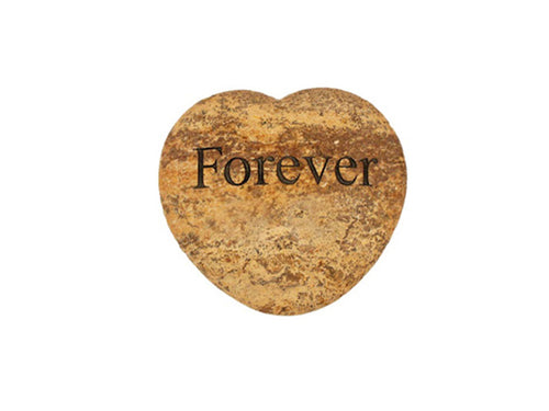 Forever Small Engraved Heart