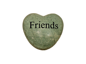 Friends Small Engraved Heart