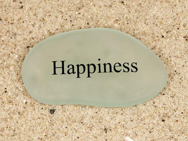 Happiness Sea Glass