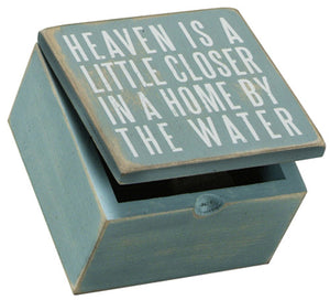 Heaven Is Closer Keepsake Box