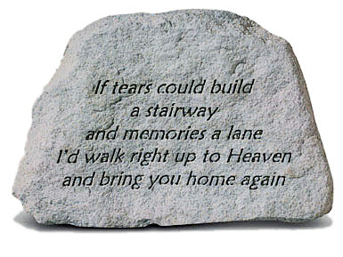 If Tears Concrete Stone