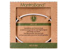 Load image into Gallery viewer, Let It Go Mantraband Cuff Bracelet