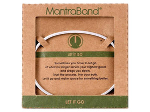 Let It Go Mantraband Cuff Bracelet