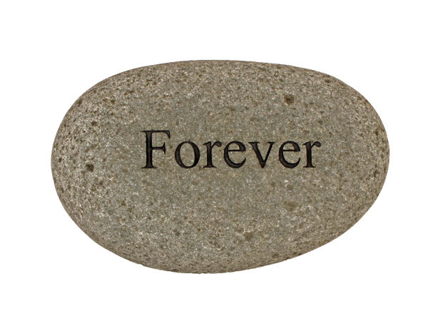 Forever Carved River Stone