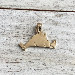 Solid Gold Martha's Vineyard Island Charms