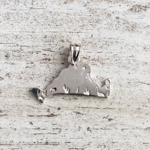 Martha's Vineyard Sterling Silver Island Charms