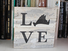 Load image into Gallery viewer, Love Small Reclaimed Sign