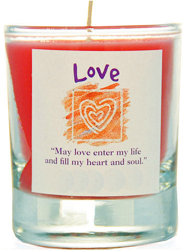 Love Soy Jar Candle